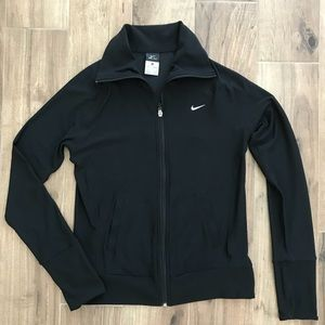 Nike dri fit zip up